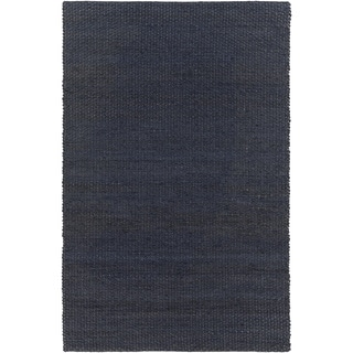 Hand-woven Milagros Solid Jute Rug (2' x 3')