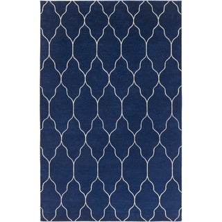Hand-knotted Jermaine Moroccan Trellis Wool Rug (8' x 11')