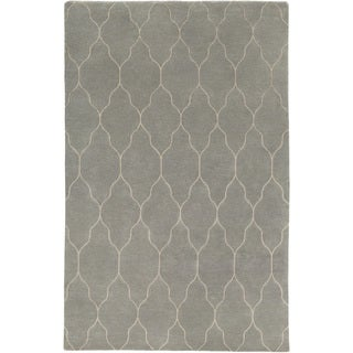 Hand-knotted Jermaine Moroccan Trellis Wool Rug (9' x 13')