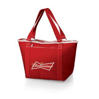 Topanga Red Budweiser Digital Print Tote