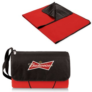 Picnic Blanket Red Budweiser Digital Print Tote