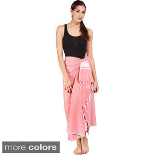 Women's Summer Fouta Cotton Sarong Wrap (India)