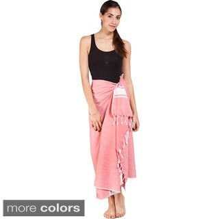 Handmade Women's Summer Fouta Cotton Sarong Wrap (India)|https://ak1.ostkcdn.com/images/products/9999921/P17149125.jpg?_ostk_perf_=percv&impolicy=medium