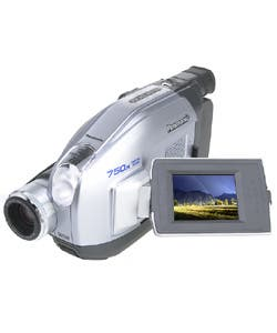 Shop Panasonic Pv L453 Vhs C Camcorder Refurbished Overstock 931271