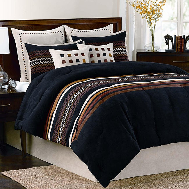 Agatha 8-piece Queen-size Comforter Set