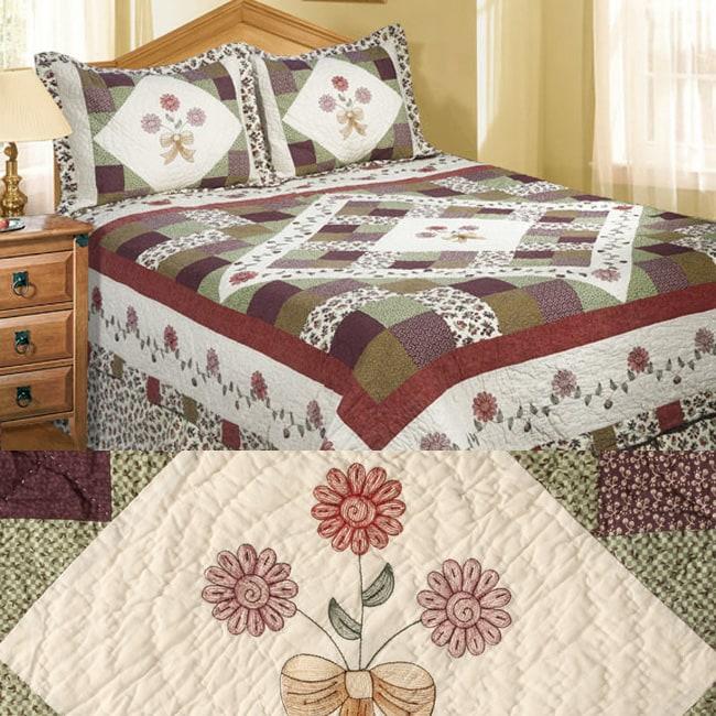 Autumn Bouquet All Cotton Patchwork Quilt