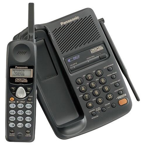 Thumbnail Panasonic KX TC1713B 900MHz Digital Cordless Phone Refurbished