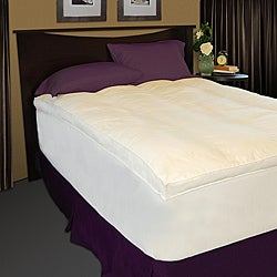 Baffle Channel 300 Thread Count Fiberbed and Skirt Set - Thumbnail 0
