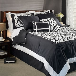 Barrymore King-size 8-piece Comforter Set
