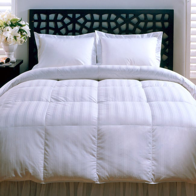 Beauty Stripe 330 Thread Count Down Alternative Comforter - Thumbnail 0