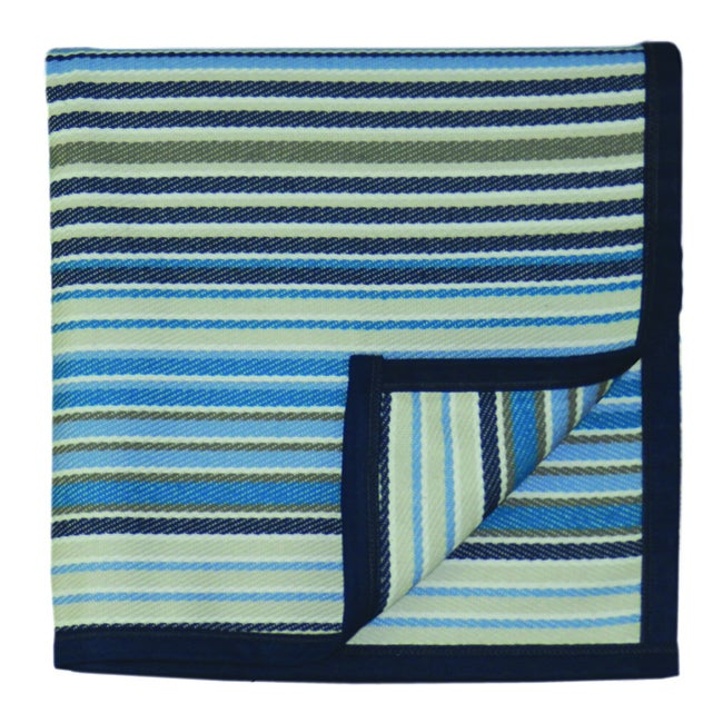 Bocasa Blue Sunrise Indoor/Outdoor Blanket