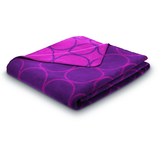 Bocasa Sunday Circle Plum Blanket
