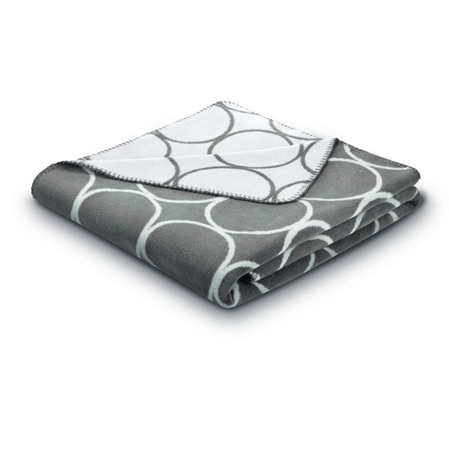 Bocasa Sunday Circle Taupe Blanket