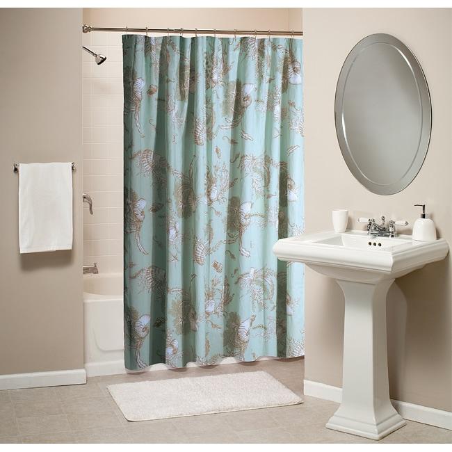 Greenland Home Fashions Bora Bora Shower Curtain