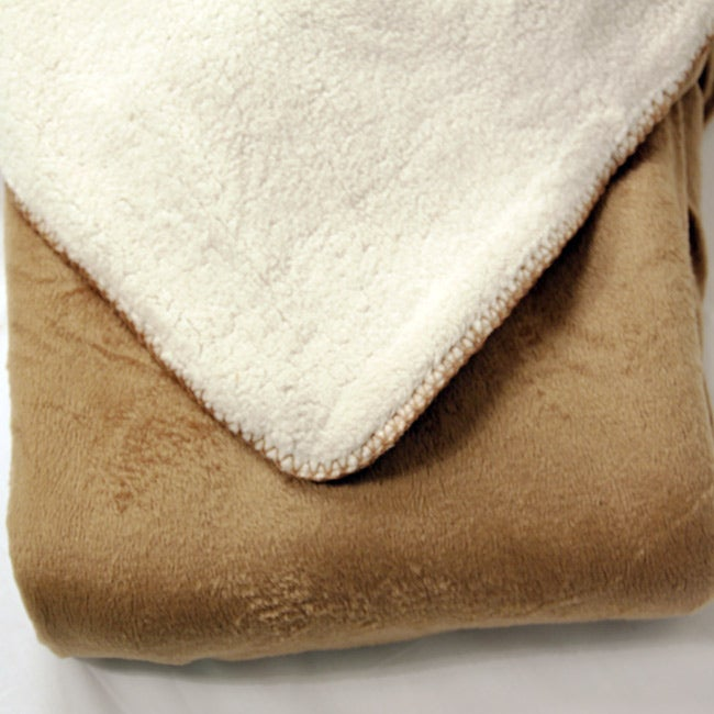 Borrego Sherpa Throw Blanket