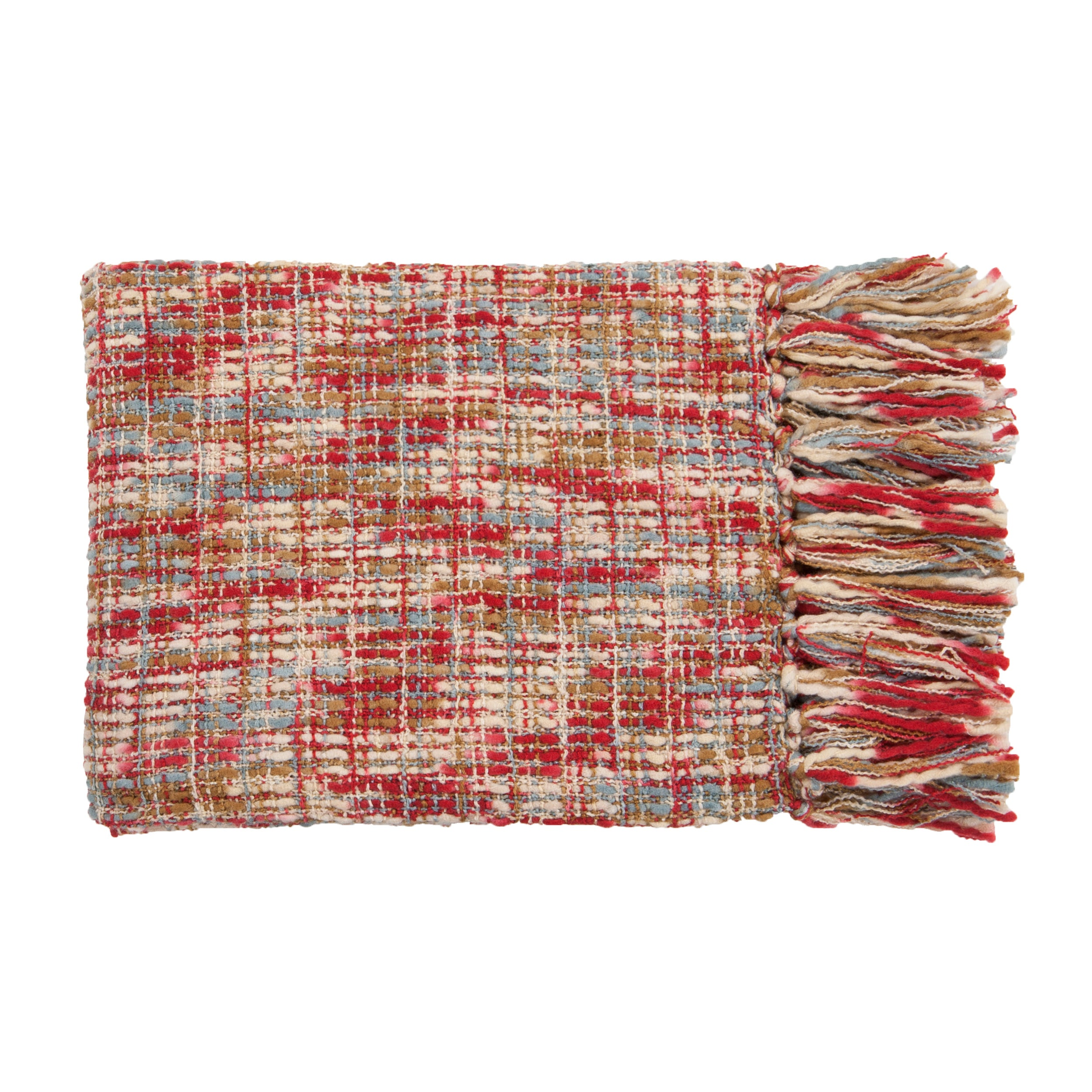 Buffalo Woven Acrylic Throw
