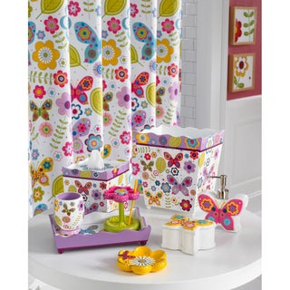 Curtains Ideas butterfly shower curtain : Purple Shower Curtains - Overstock.com - Vibrant Fabric Bath Curtains