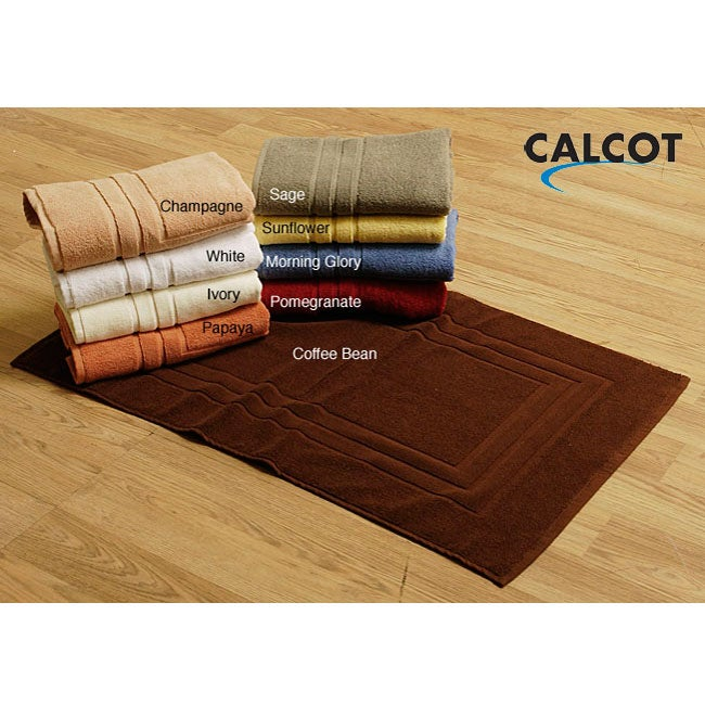 Calcot Supima Cotton Bath Mats (Set of 2) - Thumbnail 0