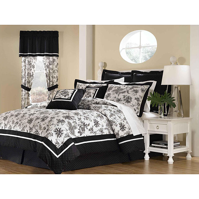 Chestnut Hill 8-piece King-size Comforter Set - Thumbnail 0