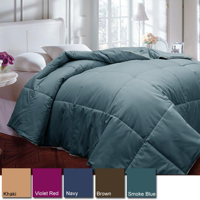 Cotton 233 Thread Count Hypoallergenic Down Alternative Comforter