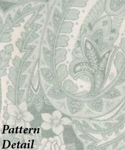 Luxury German Flannel Paisley Duvet Cover Set - Thumbnail 2