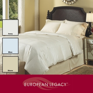 European Legacy 525 Thread Count Silken Elegance Down Comforter