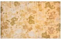 Handmade Thomas O'Brien Margo Julia Moss/ Beige Wool/ Silk Rug - 9' x 12'