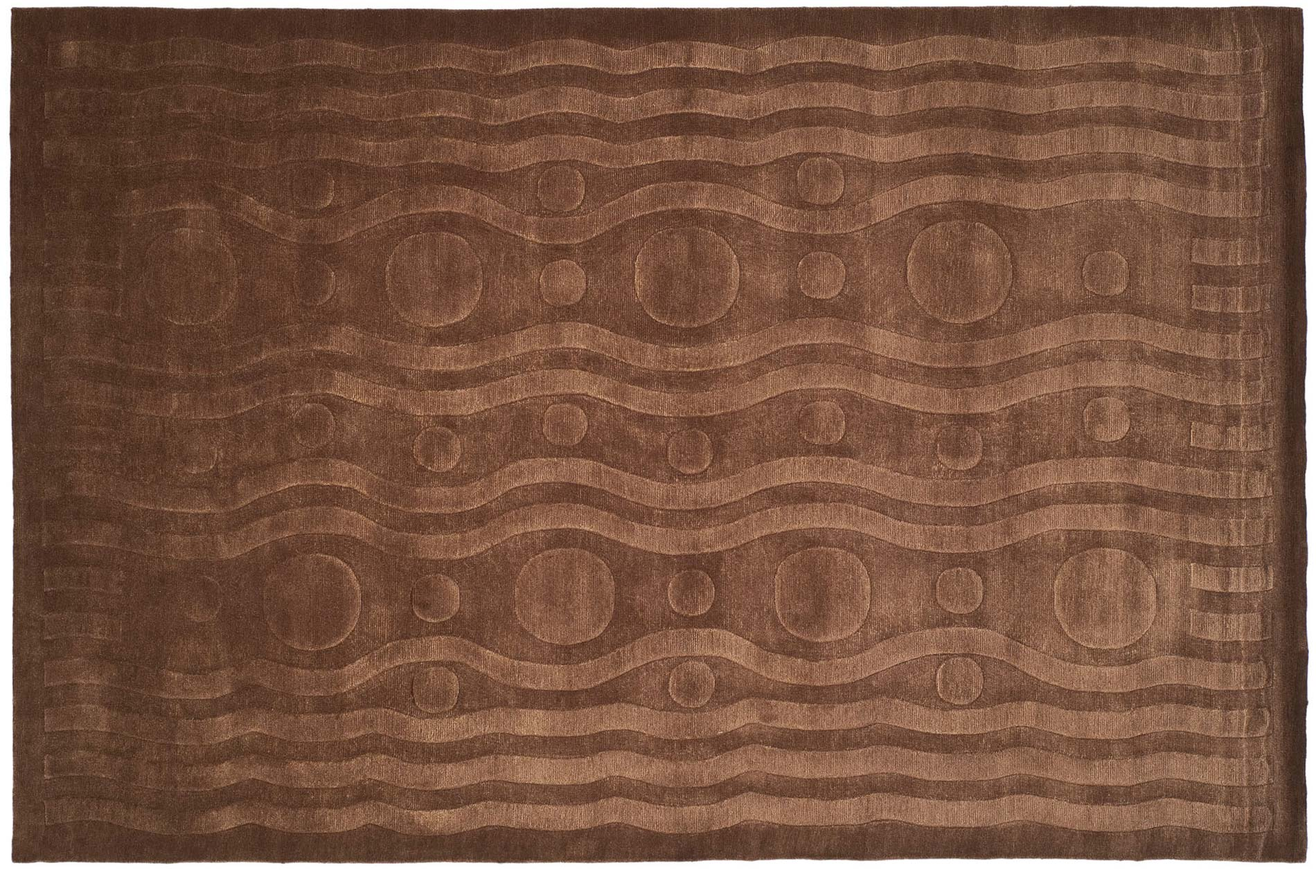 Handmade Thomas O'Brien Allium Coco Wool Rug - 9' x 12' - Thumbnail 0