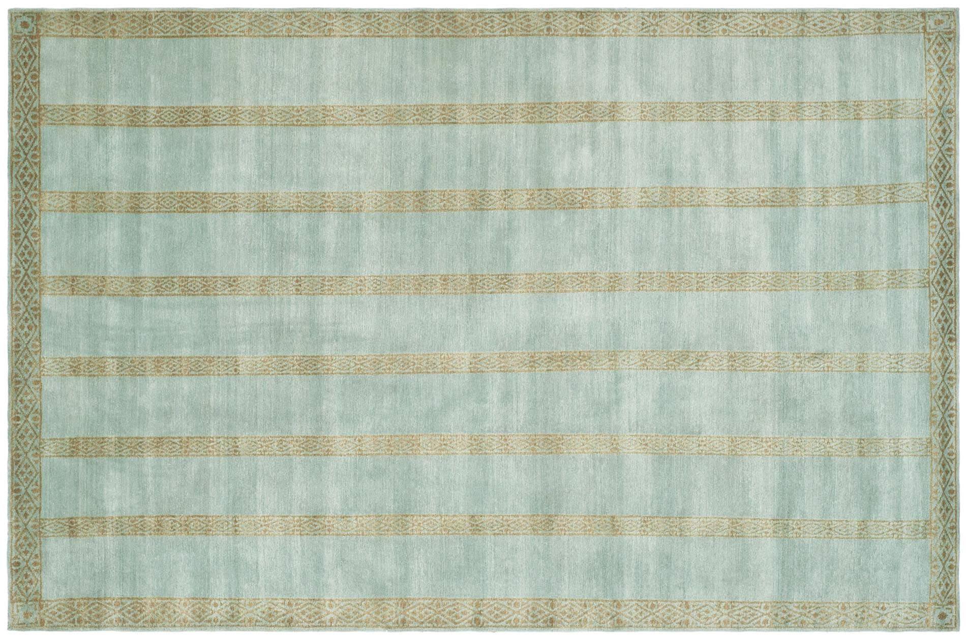 Shop Handmade Thomas O\'Brien Marco Marine/ Blue Wool Rug - 8\' x 10 ...