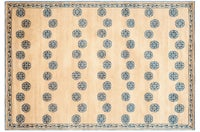 Handmade Thomas O Brien Alba Sand Wool Silk Rug 4