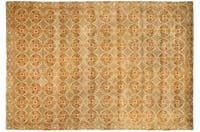 Handmade Thomas O'Brien Caniato Terracotta Wool/ Silk Rug - 9' x 12'