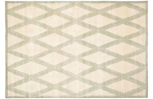 Handmade Thomas O'Brien Martine Ivory Wool Rug - 9' x 12'
