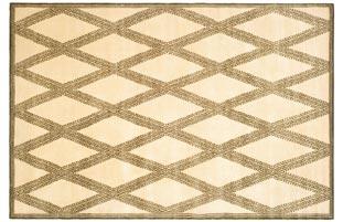 Handmade Thomas O'Brien Martine Morocco/ Ivory Wool Rug - 9' x 12'