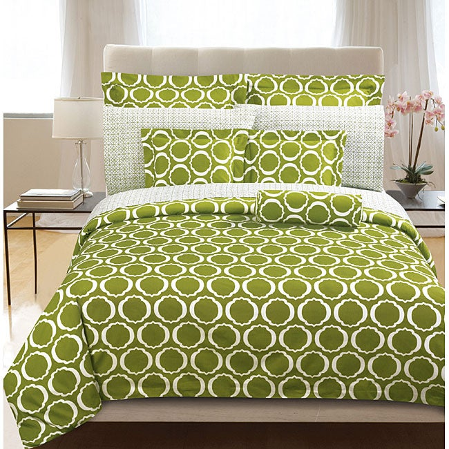 Green Scroll 2 piece Twin size Duvet Cover Set. Green Scroll 2 piece Twin size Duvet Cover Set   Free Shipping On
