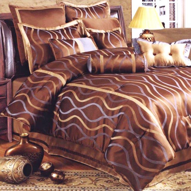 Hourglass 8-piece Comforter Set