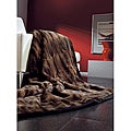 IBENA Espresso Faux Fur Throw