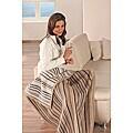 IBENA Sorrento Classic Stripe Jacquard Lap Throw