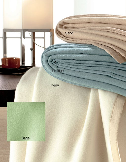 Italian-made Washable Cashmere Blanket - Thumbnail 0