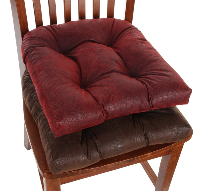 Faux Leather No slip Chair Pads Set of Four Free  : JL1008655 from www.overstock.com size 673 x 650 jpeg 94kB