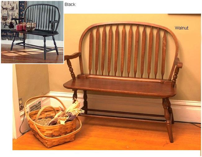 Antique Windsor Bench