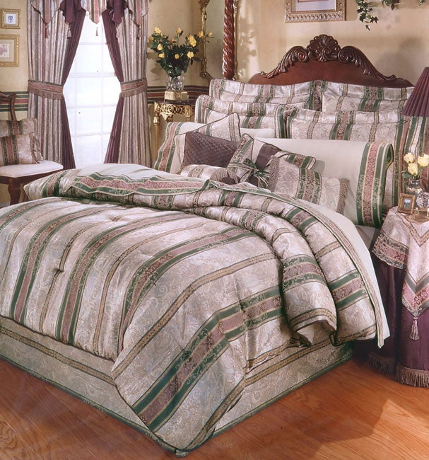 Dover Manor Luxury Bedding Ensemble (Queen)