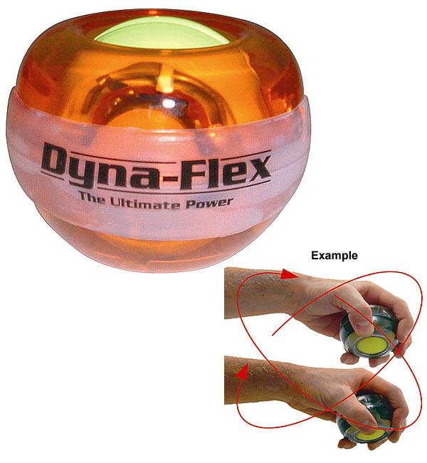 Dynaflex Power Ball Amber Gyro Wrist Exerciser
