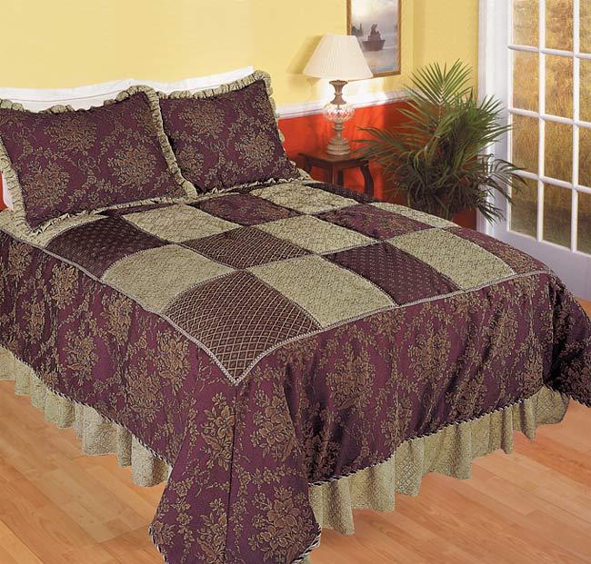 Vintage Elegance Jacquard Luxury Comforter Set