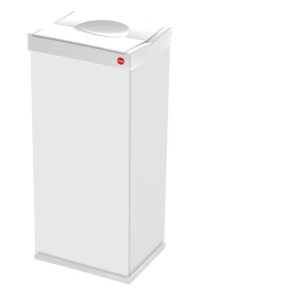 Hailo Big Box 16-gallon White Waste Bin