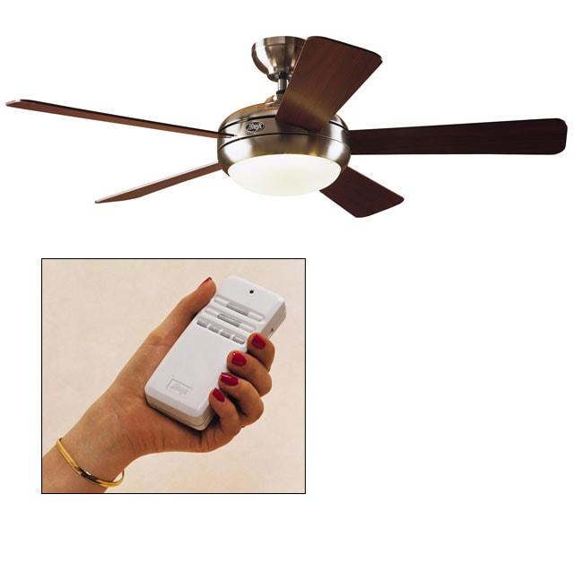 Shop hunter palermo 52 inch ceiling fan brushed nickel free hunter palermo 52 inch ceiling fan brushed nickel aloadofball Gallery