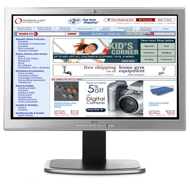 HP Flat Panel Monitor 23 1920x1200 WUXGA (Refurbished)
