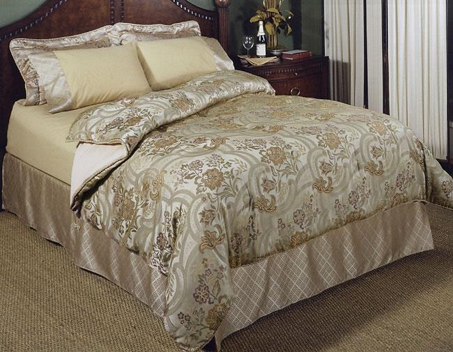 Florence Floral Jacquard Comforter Set