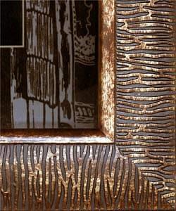 Bronze Luck And Longevity Mirror Replica (China) - Thumbnail 2