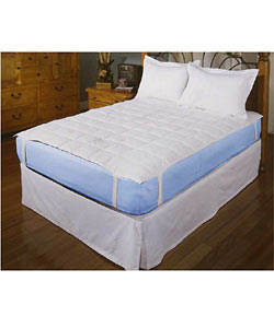 Feather and Down Mattress Pad Topper - Thumbnail 0