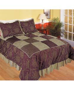 Vintage Elegance Jacquard Luxury Comforter Set - Thumbnail 0